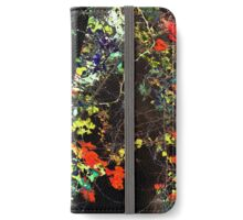 Digital Floral Dark Pattern iPhone Wallet/Case/Skin