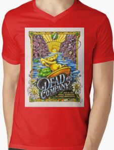 DEAD AND COMPANY SUMMER TOUR 2016 THE GORGE AMPHITHEATRE-GEORGE WASHINGTON Mens V-Neck T-Shirt