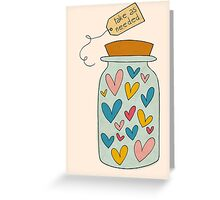 Love - Take as needed Greeting Card