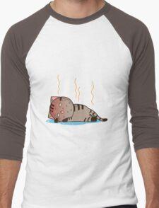 Hot cat Men's Baseball ¾ T-Shirt