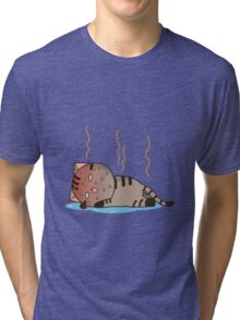 Hot cat Tri-blend T-Shirt