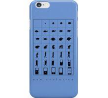 Evolution 21 iPhone Case/Skin