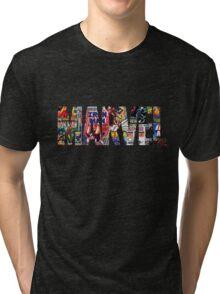 Marvel logo comic Tri-blend T-Shirt