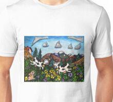 Running Cows Unisex T-Shirt