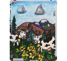 Running Cows iPad Case/Skin