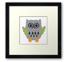 Gray owl  Framed Print