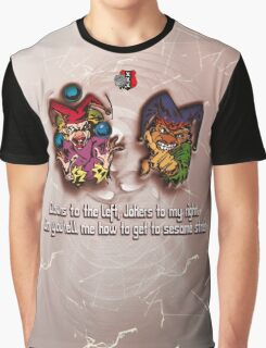 Clowns and Jokers Graphic T-Shirt