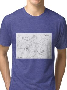 Scandentia: Animals Who Live In Trees Tri-blend T-Shirt