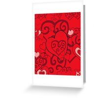 I Heart you everyday Greeting Card