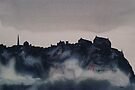 Edinburgh Castle Darkness 4 by Ross Macintyre