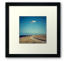 A lonely cloud Framed Print