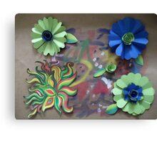 Paper doodles Canvas Print