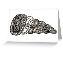 See Shell Greeting Card