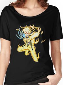 naruto kyuubi chakra mode Women's Relaxed Fit T-Shirt