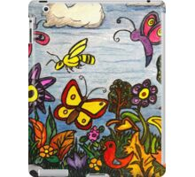 The Birds, The Bees and Butterflies iPad Case/Skin