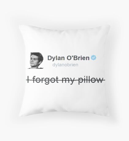 Teen Wolf - Dylan O'Brien - Pillow Throw Pillow