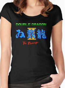 DOUBLE DRAGON II - NES CLASSIC Women's Fitted Scoop T-Shirt