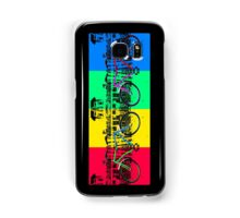 Coloured Bicycles Samsung Galaxy Case/Skin