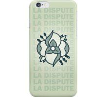 La Dispute Logo Lime and Blue iPhone Case/Skin