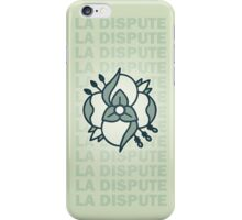 La Dispute Logo Lime and Blue iPhone Case/Skin
