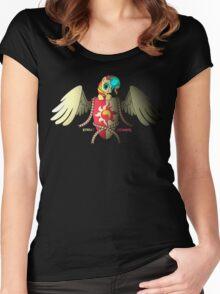 Sunset Shimmer Logo Women's Fitted Scoop T-Shirt