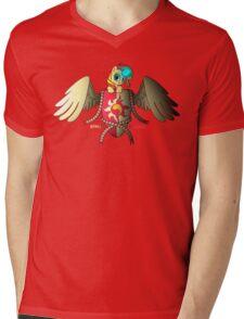 Sunset Shimmer Logo Mens V-Neck T-Shirt