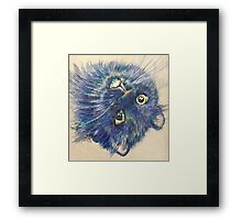 Pop Cat Series 02 Framed Print