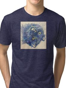 Pop Cat Series 02 Tri-blend T-Shirt