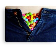 Smartie Pants Canvas Print