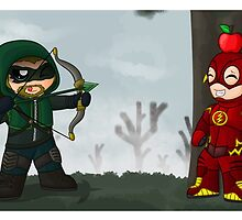 """A Heroic Game of """"Chicken"""" by redpawdesigns"""