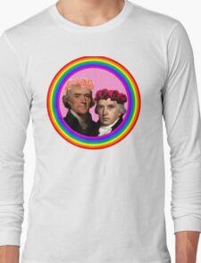Thomas Jefferson x James Madison Long Sleeve T-Shirt
