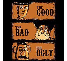 The Good The Bad the potato Photographic Print