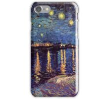 A Starry Night over the Rhone by Vincent van Gogh iPhone Case/Skin