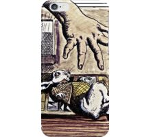 The Rabbit in a Waistcoat iPhone Case/Skin