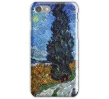 Country Road in Province by Vincent Van Gogh iPhone Case/Skin