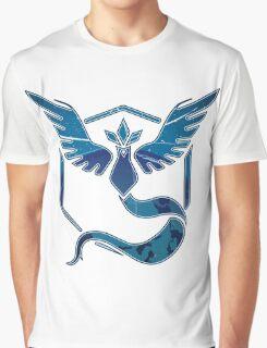 Pokemon GO TEAM MYSTIC T-shirt Graphic T-Shirt