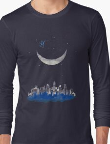 Moon Skater Long Sleeve T-Shirt