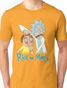 Rick And Morty | Eyes Wide Psychedelic Unisex T-Shirt