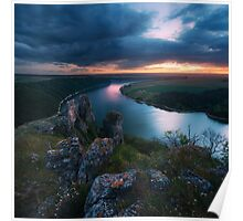 Dniester Canyon, Ukraine Poster