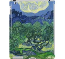 The Olive Trees by Vincent Van Gogh iPad Case/Skin