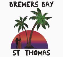 Brewers Bay St. Thomas Kids Tee