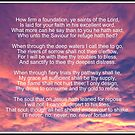 How Firm A Foundation (Verses 1, 4, 5 and 6) by BlueMoonRose