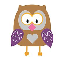Ugly owl  Photographic Print