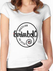 BJJ Brazilian Jiu Jitsu - Berimbolo Women's Fitted Scoop T-Shirt
