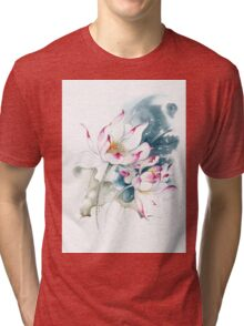"""Journey For Two"" from the series ""In the Lotus Land"" Tri-blend T-Shirt"