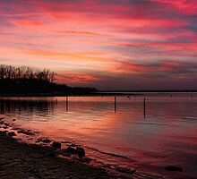 Sunsets Are So Beautiful by Carolyn  Fletcher