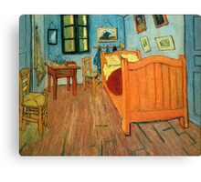 Vincent Van Gogh the Bedroom at Arles Canvas Print