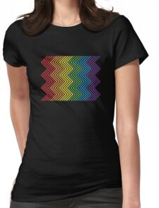 Electric Pride Womens Fitted T-Shirt