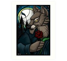 Stained Glass - Gilneas Art Print