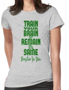 BJJ Brazilian Jiu Jitsu - Train your brain Womens Fitted T-Shirt